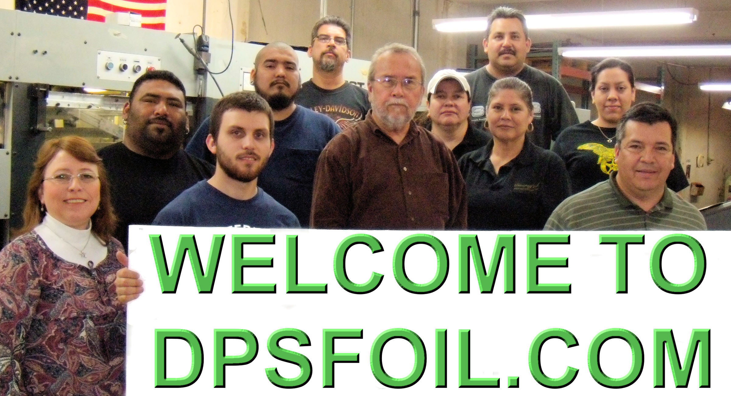 WELCOME TO DPSFOIL.COM